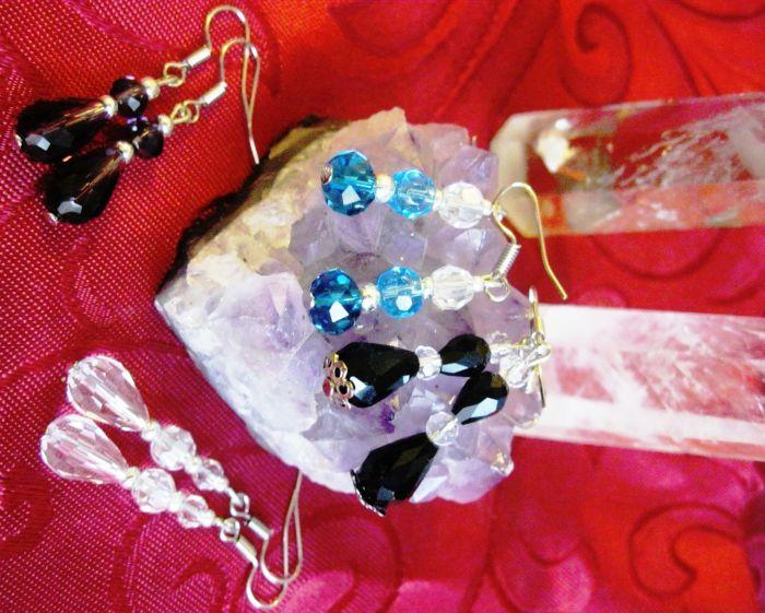 b9ef3379be9 Красивые серьги из натуральных камней